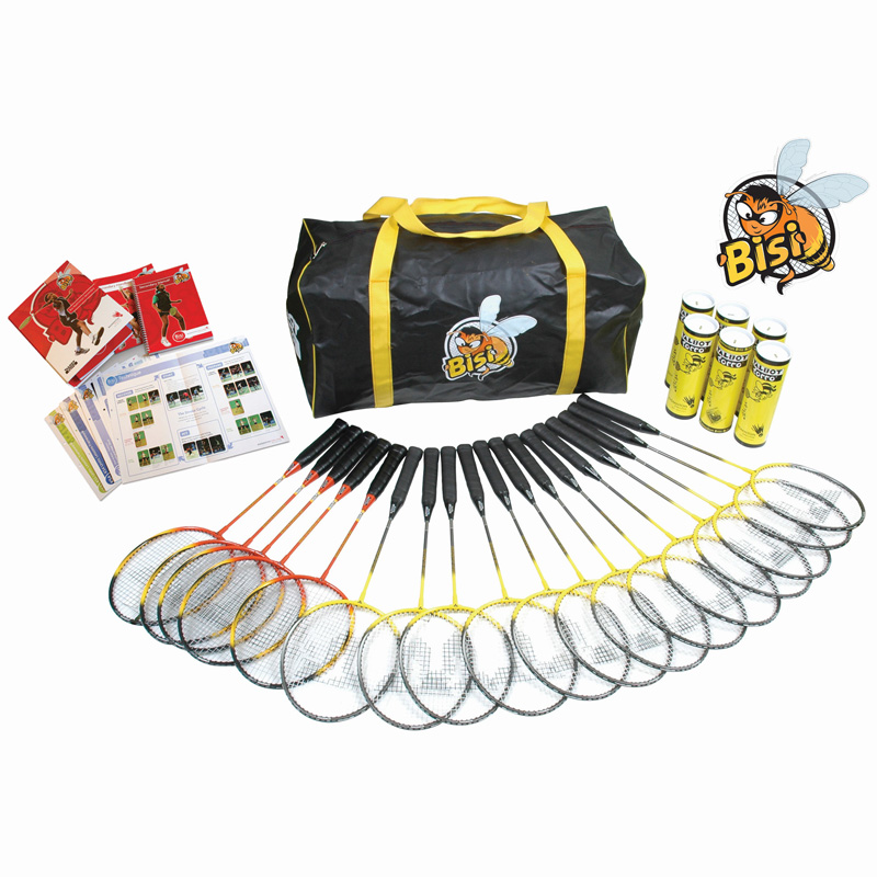 Bisi Secondary Badminton Equipment Pack