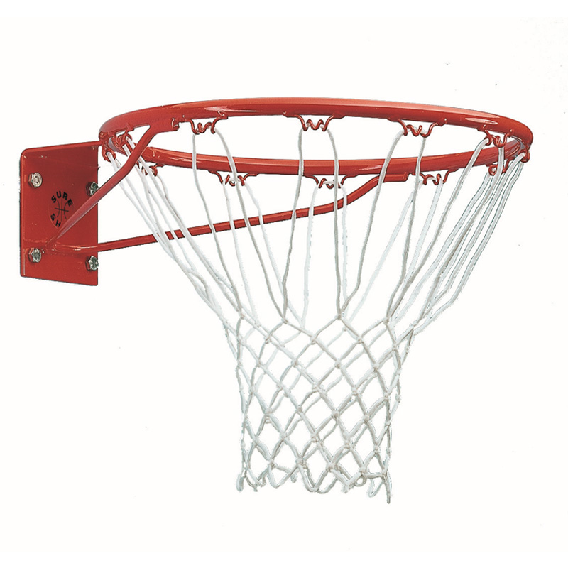 Sure Shot 261 Institutional Basketball Ring and Net (Single Unit)
