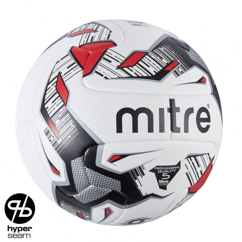 Mitre Max Hyperseam Match Football (Size 5)