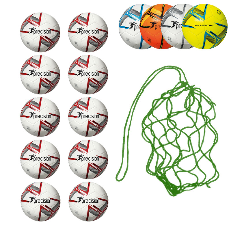 Net of 10 Precision Fusion IMS Footballs