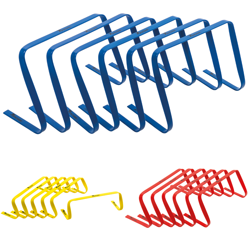 Precision Flexi Flat Speed Hurdle Sets (6'', 9'', 12'', 15'')