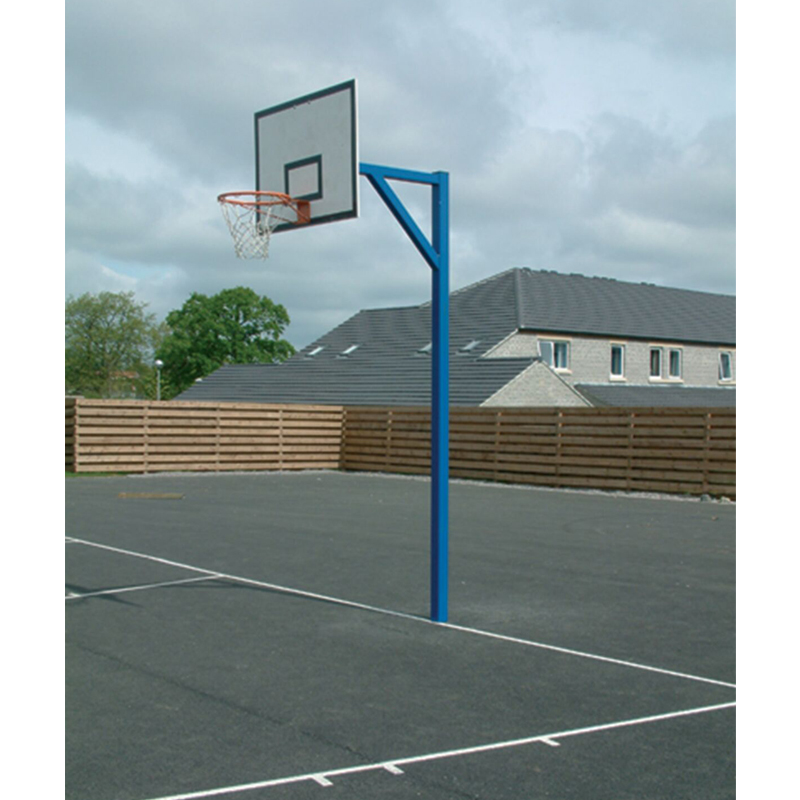 Harrod Socketed Basketball Posts (Available in Single or Pairs) (BAS02)