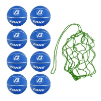 Net of 8 Zone Basketballs Size 7  (Blue)