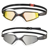 Speedo Aquapulse Max Mirror 2.0 IQ Fit Racing Swimming Goggles