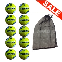 Net of 10 iPro Matrix Soft Touch Training Balls
