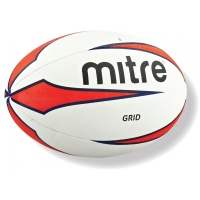 Mitre Grid Rugby Training Football Size 5