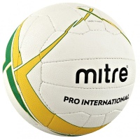 Mitre Pro International Netball (Size 5)