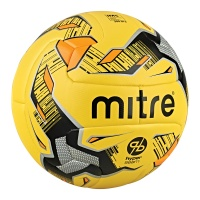 Mitre Ultimatch Hyperseam Football- Fluo Yellow