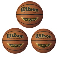 Wilson MVP Official Tan Basketball (Sizes 5,6,7)