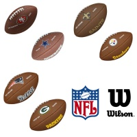 Wilson Logo NFL Team American Football (Mini Size)