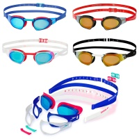 Speedo FastSkin Prime Multi Changeable Mirror Swimming Goggles