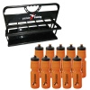 Precision Folding Carrier Bottle Set (10 Bottles & Carrier)