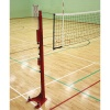 Option: Floor Fixed Competition Telescopic Volleyball Posts
