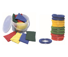 Bean Bags, Quoits, Hoops, Ropes