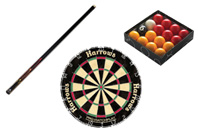 Darts, Snooker & Games