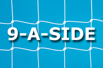 9-a-side Goal Nets (16 x 7ft / 4.88 x 2.13m)