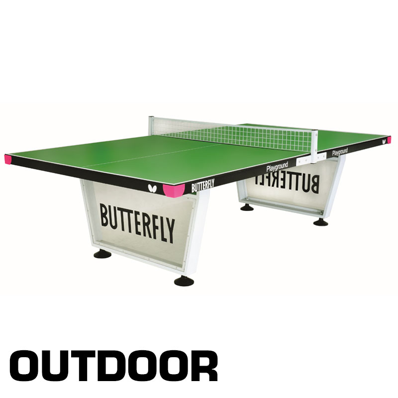 Butterfly Outdoor Playground Table Tennis Table