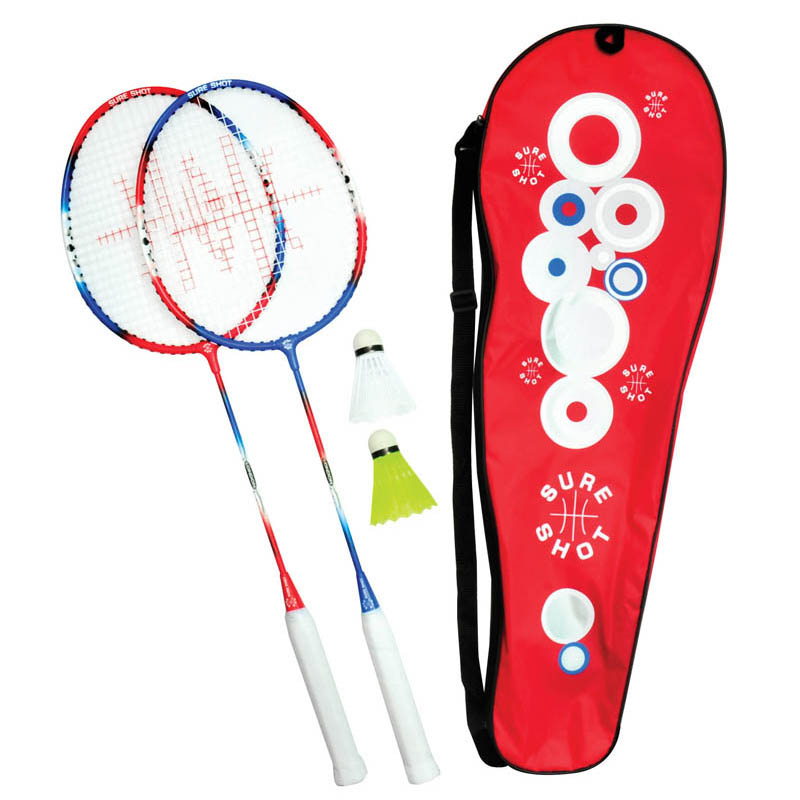 Sure Shot London Adults 2 Player Badminton Racket Set