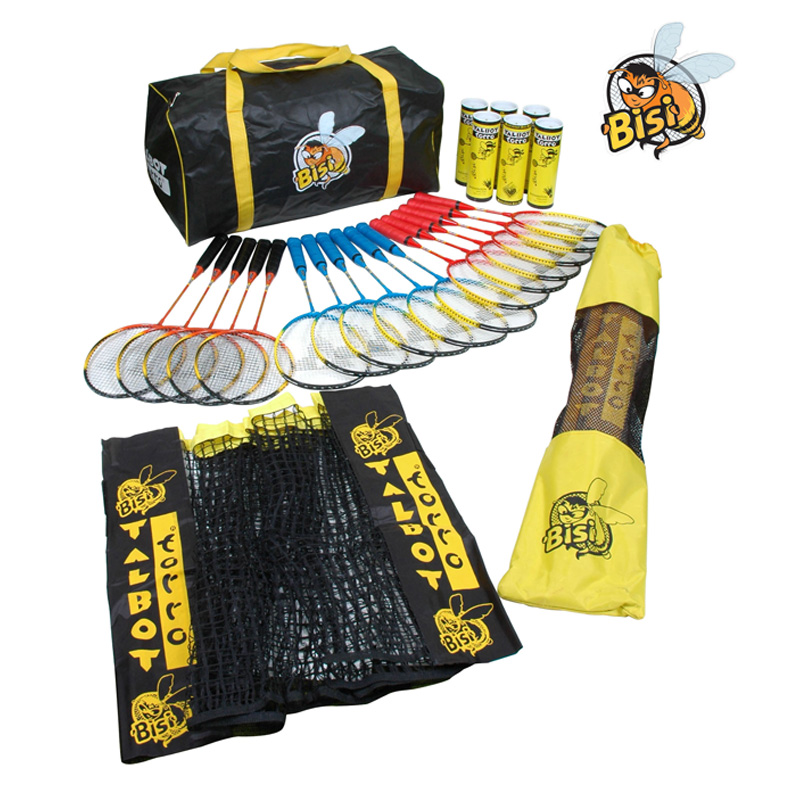Bisi Primary Badminton Equipment Pack