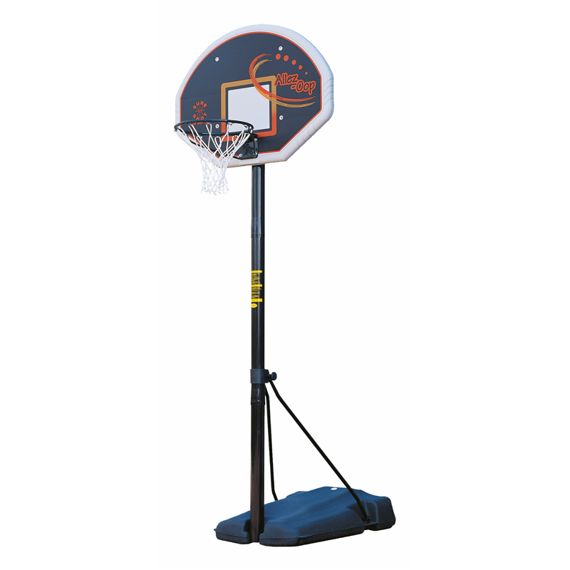 Sure Shot 520 Heavy Duty Basketball Unit with Coloured Fan Backboard & Padding