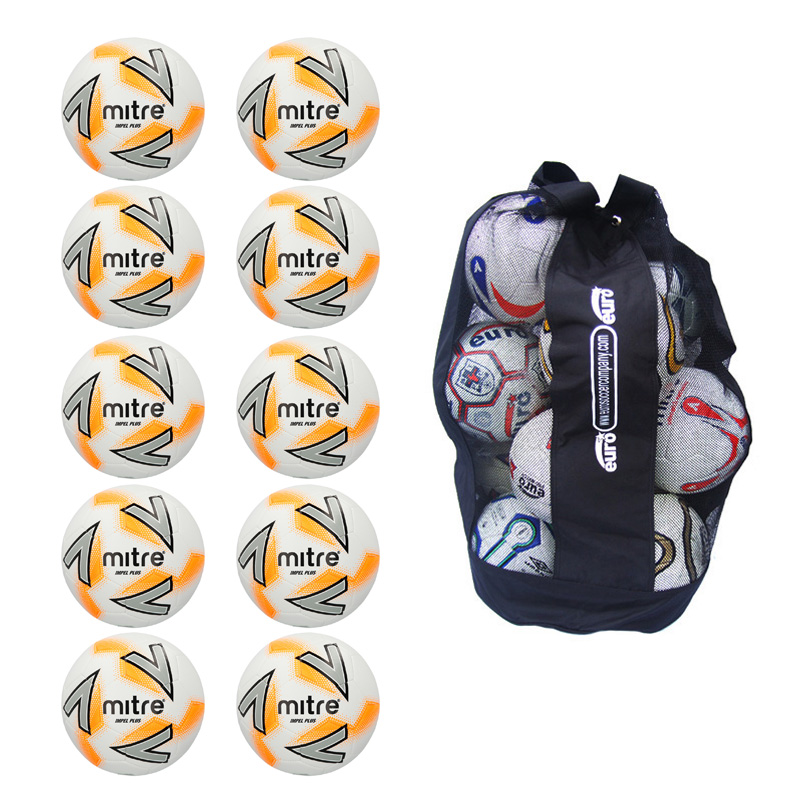 Sack of 10 Mitre Impel Plus Training Balls