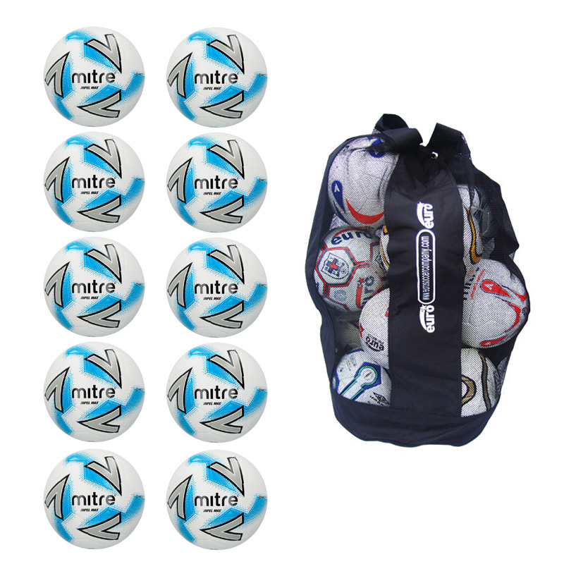 Sack of 10 Mitre Impel Max Training Balls