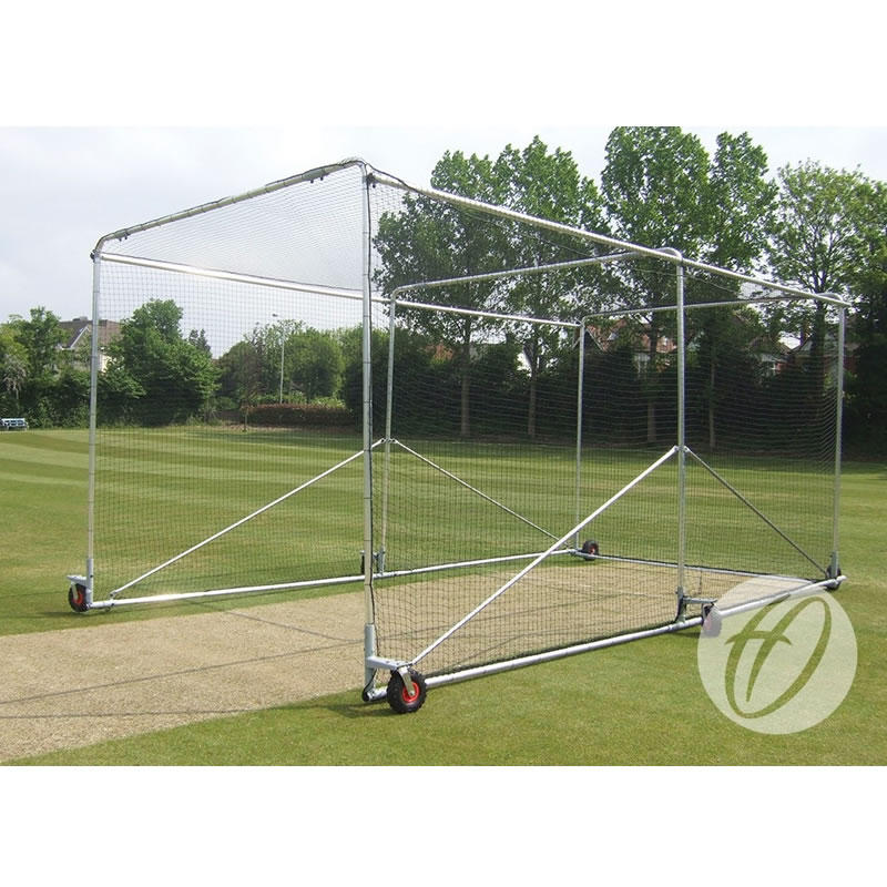 Premier Wheelaway Cricket Cage available in Steel or Aluminium & Net only