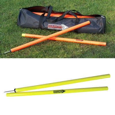 Diamond 2 Piece Agility Pole Set (Bag of 12)