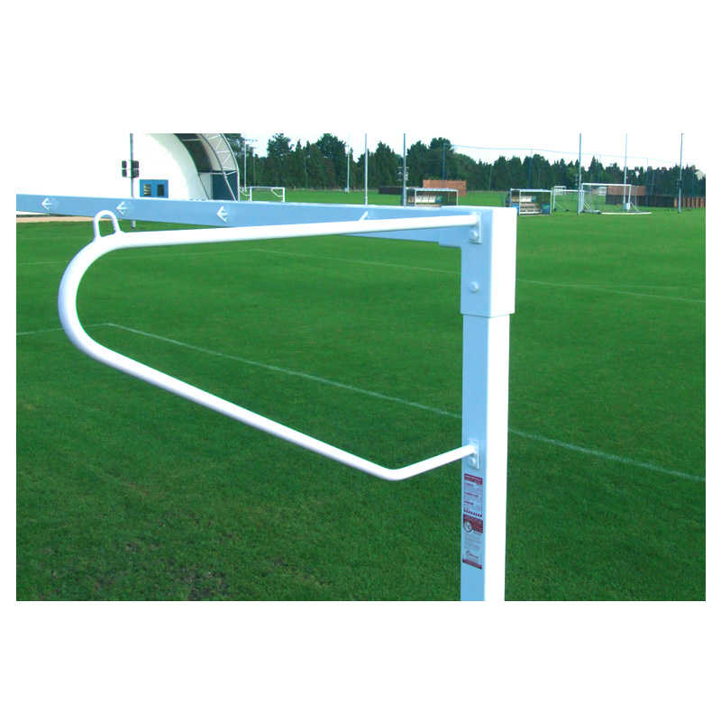 Harrod (11 A-Side Football) 22mm Solid Steel Net Supports ( 21x7 & 24x8 Goals) ( Set of 4)