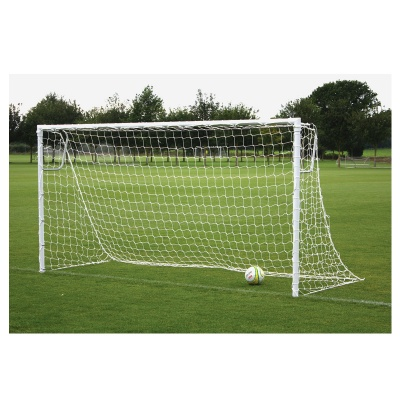 Harrod Socketed Steel 60mm Round Football Goal Post (12 x 6ft / 3.66 x 1.83m) FBL139 (Pair)