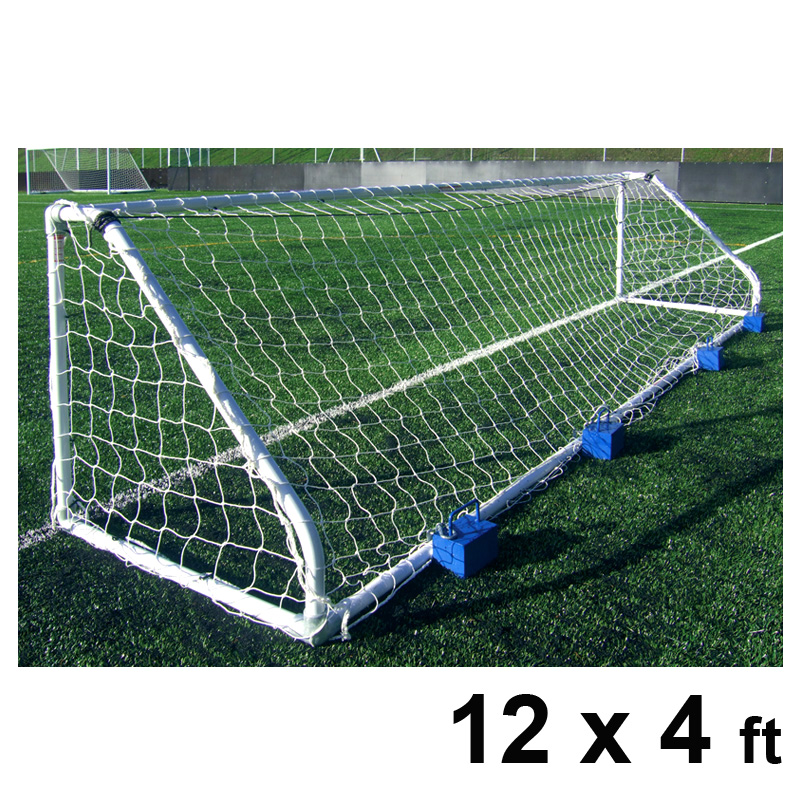 Harrod Classic Football Steel Goal Posts (12 x 4ft / 4.88 x 1.2m) FBL141 (Pair)