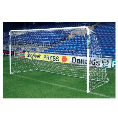 Harrod Supa 7 Steel Portable Football Goal Post (12 x 6ft / 3.66 x 1.83m) Includes Bag, Net & Clips - FBL165 (Single)