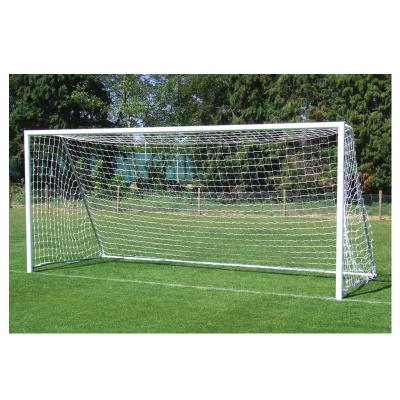 Harrod Folding Freestanding Aluminium Football Goal Posts (12x6ft / 3.66 x 1.83m) FBL181 (Pair)