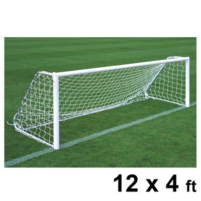 Harrod Folding Freestanding Aluminium Football Goal Posts (12 x 4ft / 3.66 x 1.22m) FBL186 (Pair)