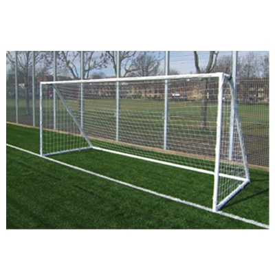 Harrod Heavy Duty Galvanised Steel Football Goal Posts (12 x 6ft / 3.66 x 1.83m) FBL511 (Pair)