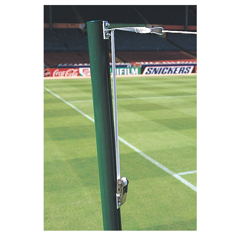 Harrod Free Hanging Football Net Supports (FBL539) (Set of 4)