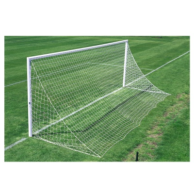Harrod 3G Socketed Parks Aluminium Football Goal Posts for Quick Removal  - With Locking Lids (21 x 7ft / 6.4 x 2.13m) FBL565 (Pair)