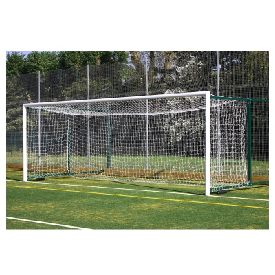 Harrod 3G Aluminium Fence Folding Football Goal Posts- With (2.3 - 3.5m Projection) (24 x 8ft / 7.32 x 2.44m) FBL613 (Pair)