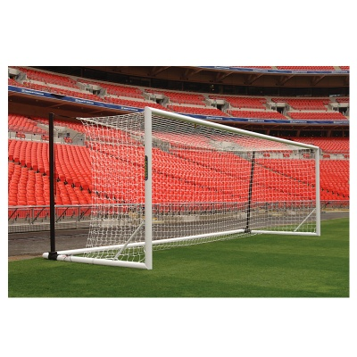 Harrod 3G Fold-away Euro Football Portagoals (24 x 8ft / 7.32 x 2.44m) FBL682 (Pair)