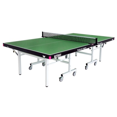 Butterfly Indoor National League 25 Rollaway Table Tennis Table