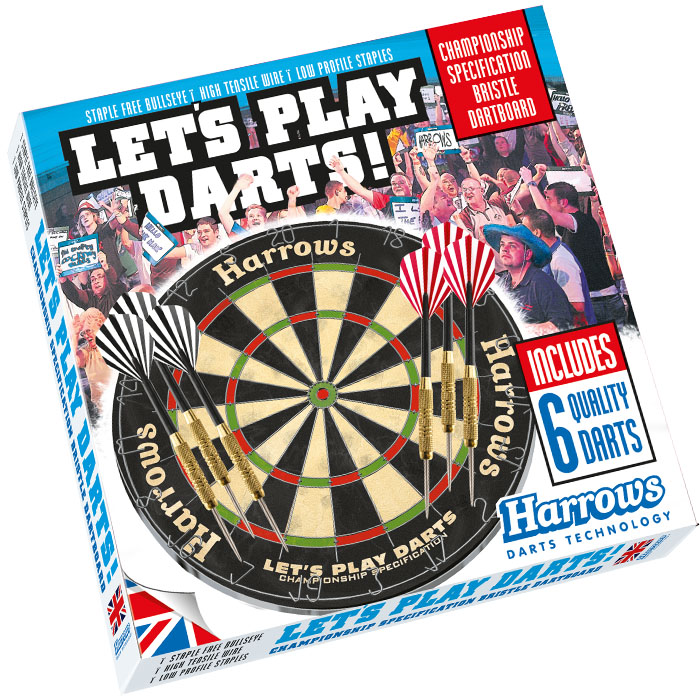 Harrows Bristle Darts Board Game