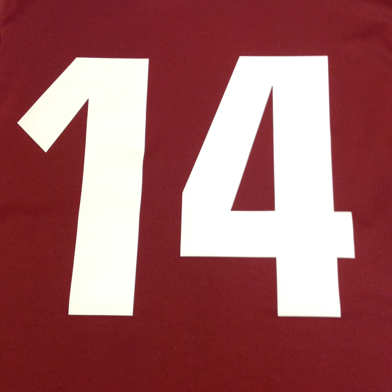 Printed 9'' Team Numbers (Set of 10)