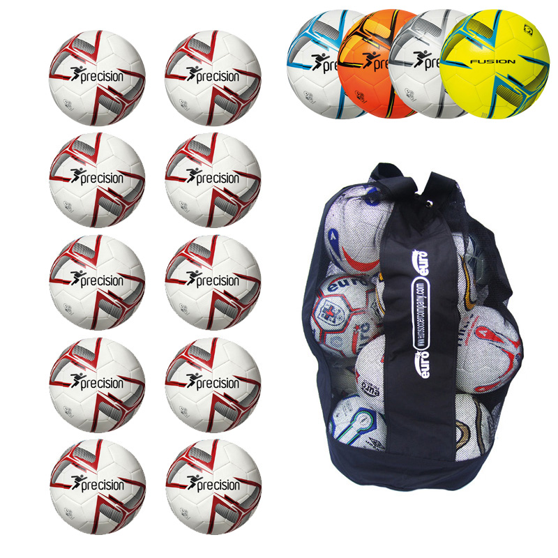 Ball Sack of 10 Precision Fusion IMS Training footballs