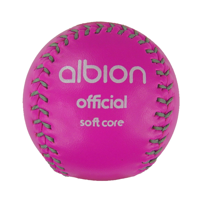 Albion Soft Core Safety Baseball ( Yellow or Pink) (BOX OF 6)