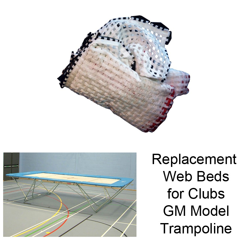 Replacement Web Beds for Club Trampolines (GM Model)