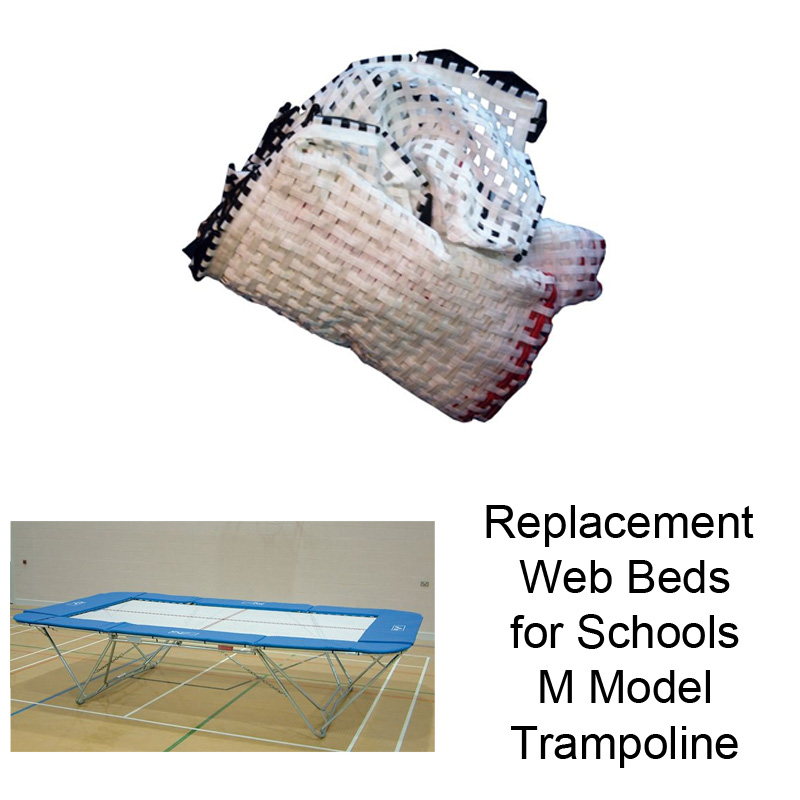 Replacement Web Beds for Schools Trampolines (M Model)