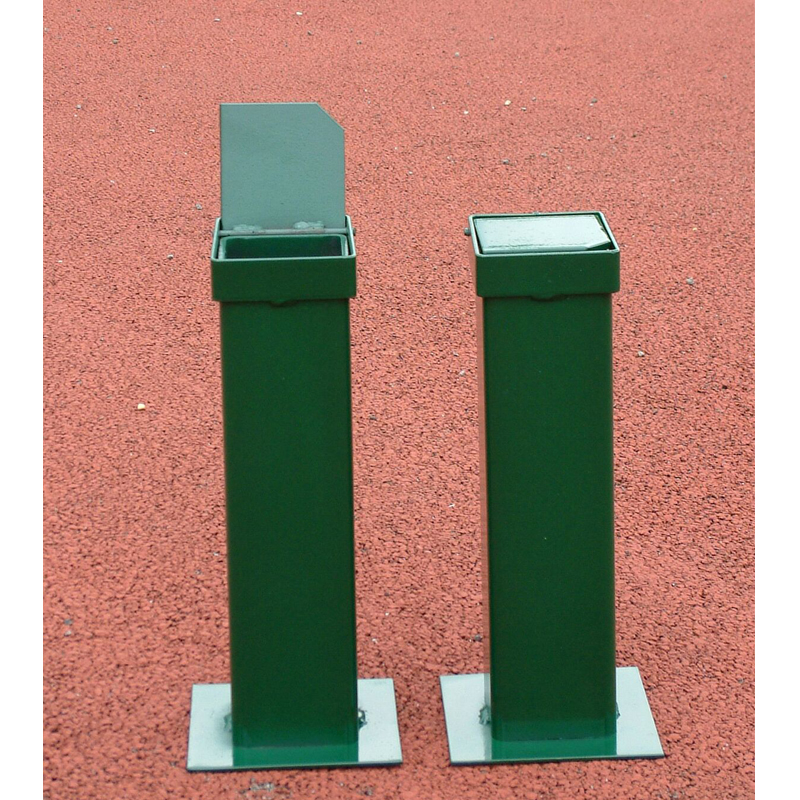 Harrod Spare Square Ground Sockets for Steel Tennis Posts (TEN026)