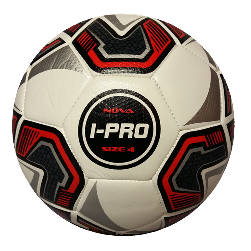iPro Nova Football (White) High Performance Grained Surface. Soft Feel (Sizes 3,4,5)