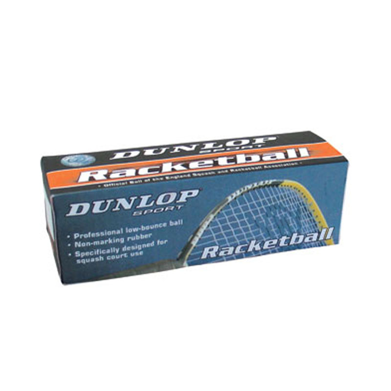 Dunlop Racketballs Tube Of 3