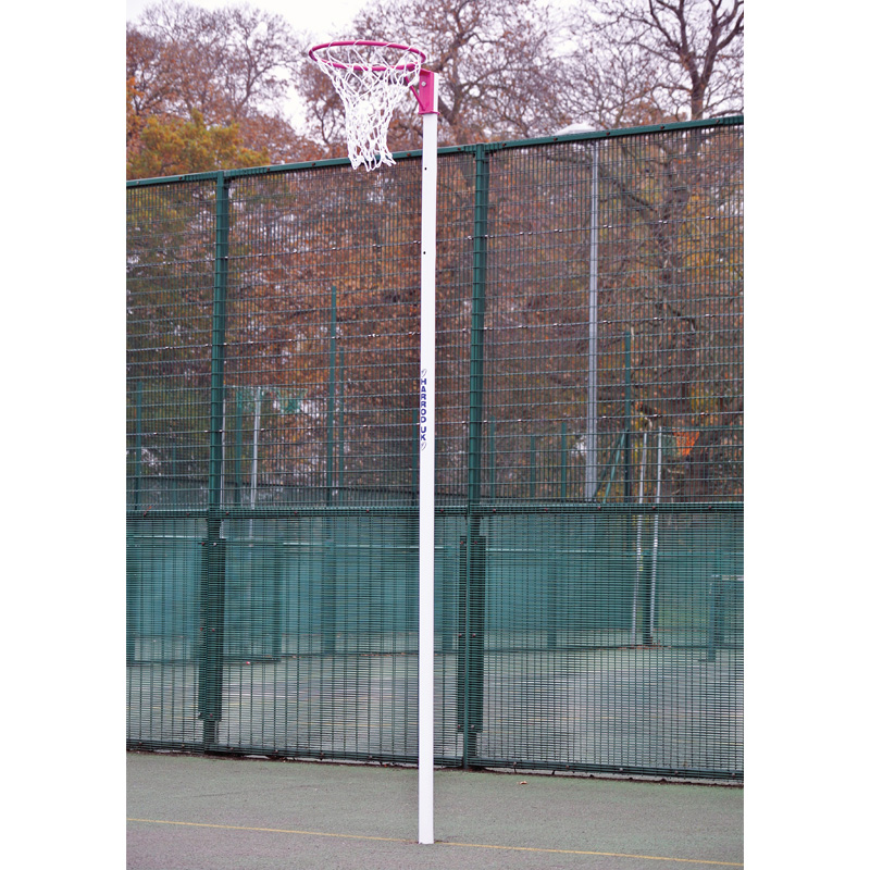 Practice White Netball Net Pair